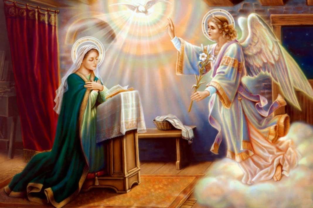 """A """"Anunciação do Senhor"""" como início cronológico do plano divino"""