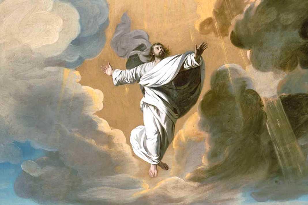 A celebração da Ascensão do Senhor em casa: Jesus sobe para a direita do Pai