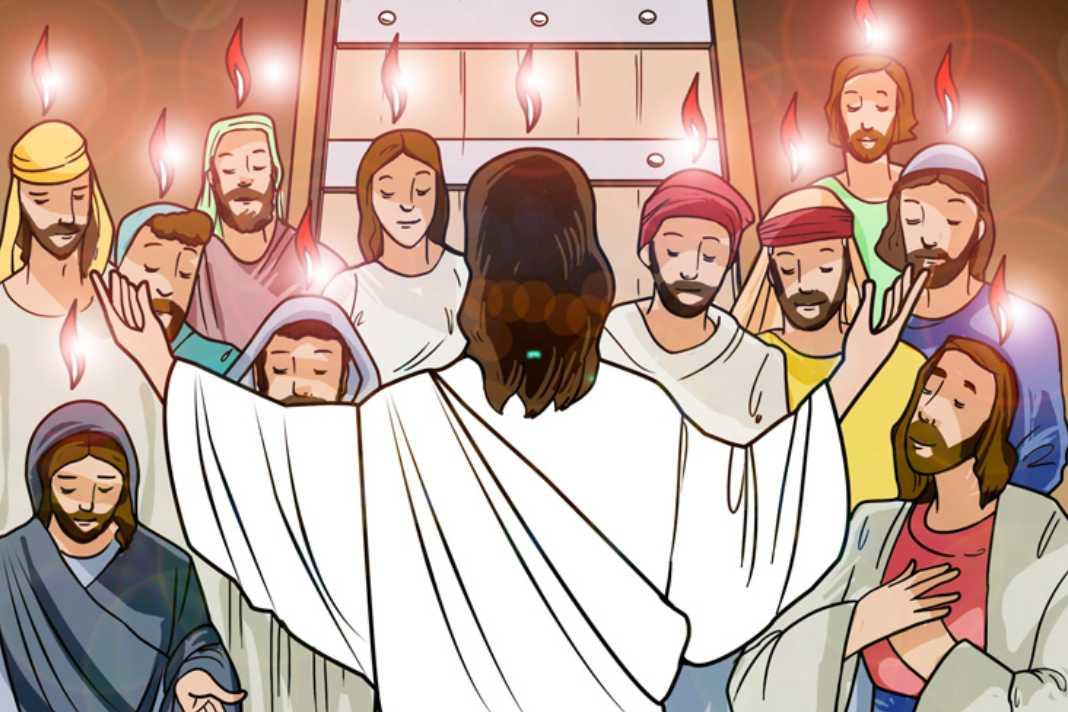 Celebrando Pentecostes na catequese infantil