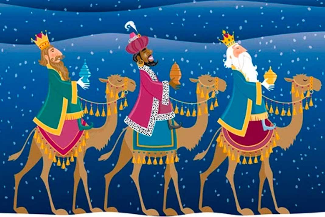 Os três reis magos e os presentes