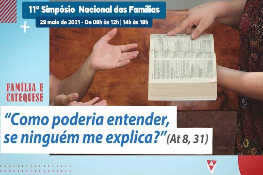 CNBB promove 11º Simpósio Nacional das Famílias destacando o papel da família na catequese